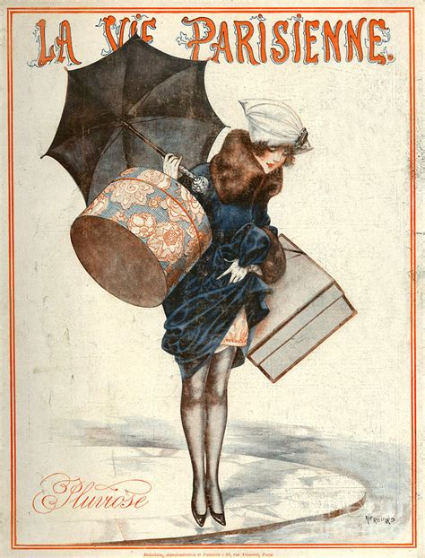 1920s france la vie parisienne magazine drawing by the