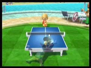 Wii Sports Resort Table Tennis Highest Points - YouTube  Table Tennis Sports