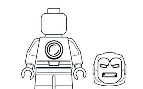 iron man ausmalbilder lego marvel super heroes