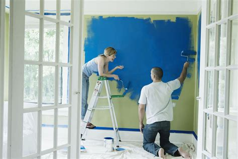 should you paint or trim walls first