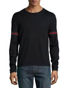 Gucci Black Long Sleeve Shirts Men