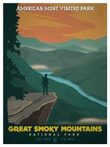ideastorm studio store vintage national park poster