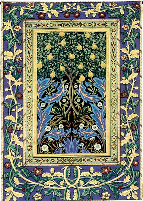 tree of tapestry abstract modern tapestries and wall hangings