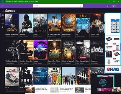 Twitch Chat Stream Gaming Screenshot Tv Screenshots