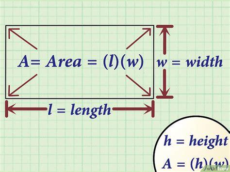 4 Manières De Calculer La Largeur D'un Rectangle