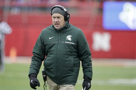 michigan state limps home playing  bowl position