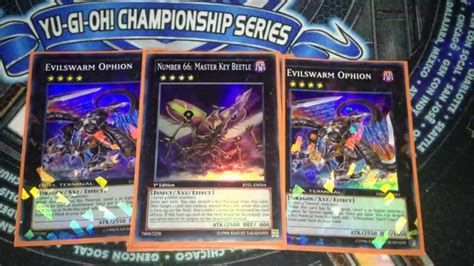 yu gi oh evilswarm deck profile new april 2014 format