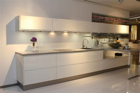 Miele Kitchen Cabinets by European Kitchens Contemporary Handleless Kitchen