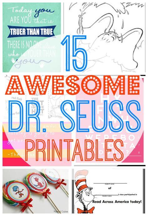 printable dr seuss quotes templates quotesgram
