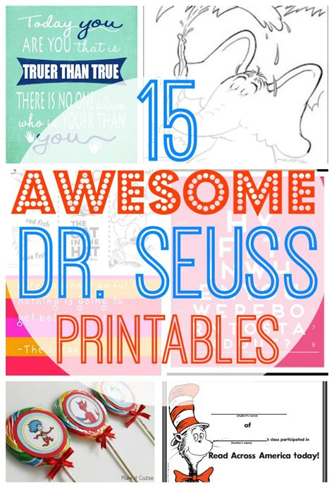 Printable Dr Seuss Quotes Quotesgram