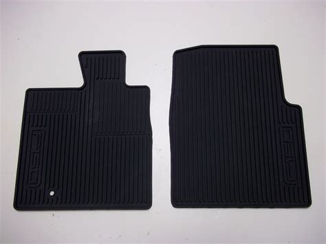 floor mats for f150 2005 2006 2007 2008 ford f150 all weather floor mats 2 piece set black ebay