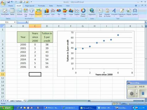 linear regression  excel youtube