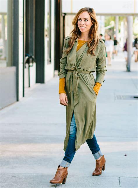 wear  trench coat  youre short sydne style