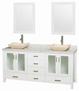 eco friendly double bathroom vanity with 6 drawers With eco friendly bathroom vanity