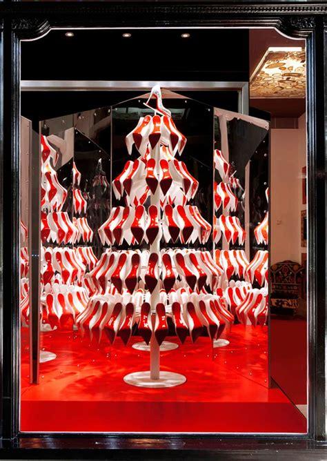 icemagazine christian louboutin christmas trees by studio xag