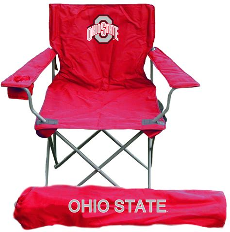 ohio state buckeyes rivalry folding chair