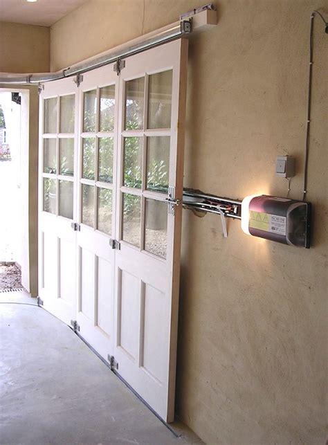 horizontal sliding garage doors horizontally tracked sliding doors automation
