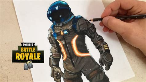 como dibujar al viajero oscuro fortnite   draw