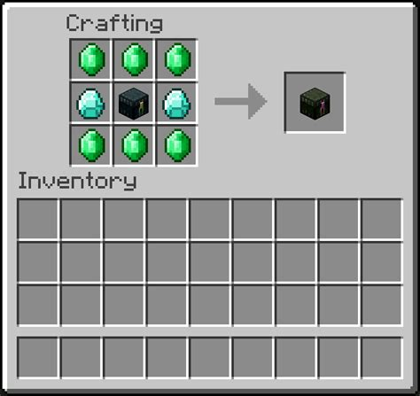 minecraft ender chest crafting
