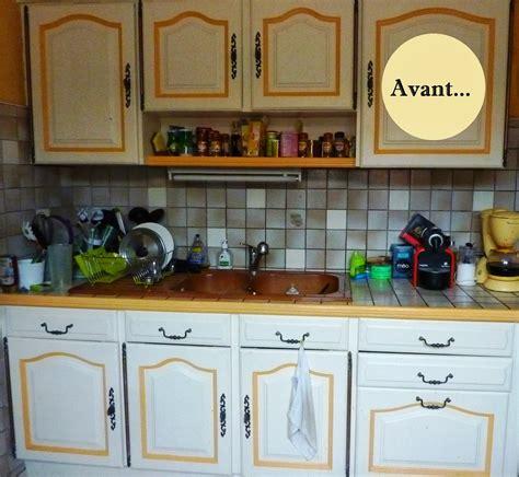 cuisine customiser avant après rénover sa cuisine en 2 week end