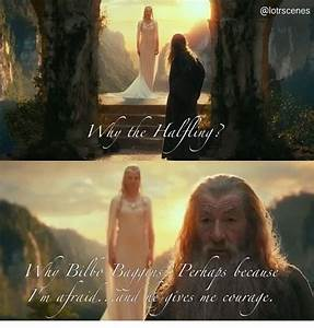 A Wizard Is Nev... Gandalf Wizard Quotes