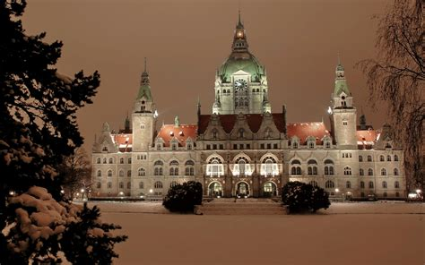 city hall hanover germany wallpaper wallpapers