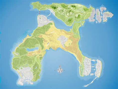 Gta 5 Online Gets The Liberty City Map Soon, According To