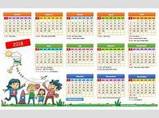 Kalender 2018 Versi Excel dan Pdf Darmawan Blog
