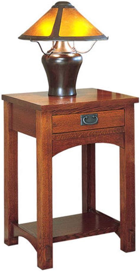 Mission Style Nightstand Plans by Nightstand Mission Style By Smitty Cabinetshop
