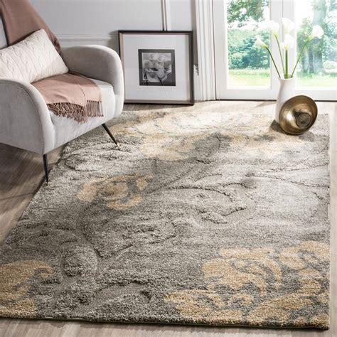 3x5 bathroom rugs safavieh florida shag gray beige 6 ft x 9 ft area rug
