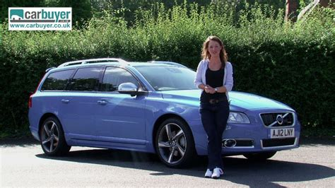 volvo  estate review carbuyer youtube