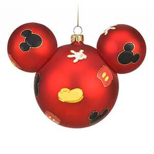 disney christmas ornament mickey mouse ears body parts