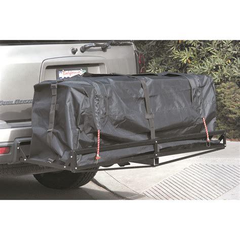 long expandable nylon cargo carrier cover