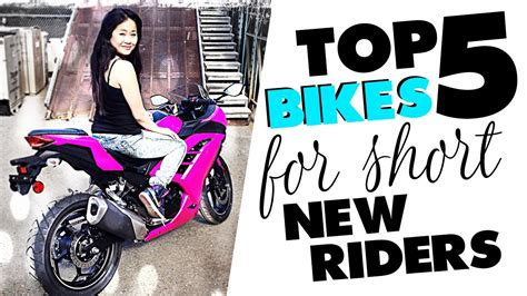 top 5 sportbike motorcycles for short people new riders