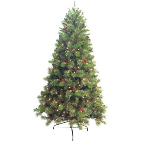 walmart 65 artifical xmas trees time pre lit 6 5 artificial