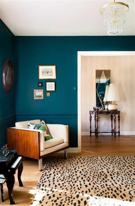 peinture et decoration chambre peinture bleu canard 2017 et chambre deco salon bleu