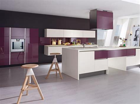 décoration violet quelle décoration cuisine gris et