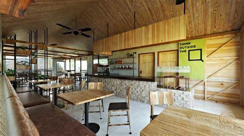 Besides coffee, they offer tea, bubble tea. Photo Indoor seating area Mangata Coffee Shop 1 desain arsitek oleh Afryaldi - ARSITAG