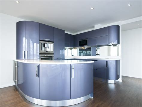 blue kitchen design ideas 27 blue kitchen ideas pictures of decor paint cabinet 4825