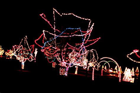 family fun night christmas light scavenger hunt with
