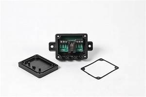 Y-connector  Black Junction Box