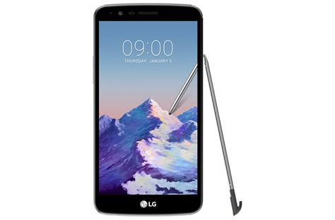 lg stylus  mdk  enabled  volte smartphone