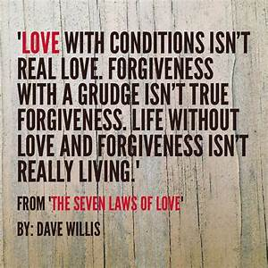 The Seven Laws of Love (Quotes from the book) | Dave Willis