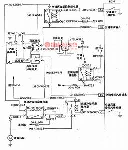 The Oil Injection And Air-conditioner Control Circuit Of Daewoo-espero