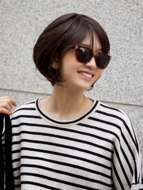 model rambut pendek wanita korea model rambut terbaru