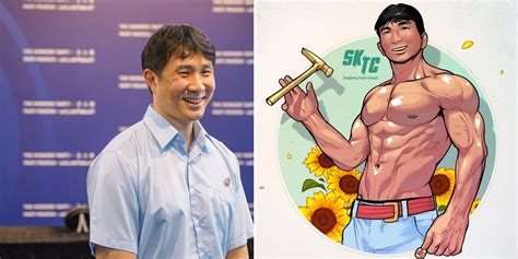 Born and breed in singapore… the lion city… the garden city. S'pore Artist Draws Jamus Lim As Buff Model, Warms More Than Our Hearts' Cockles