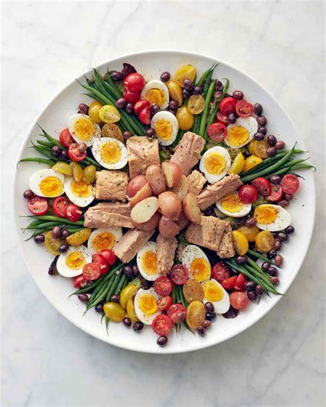 cuisine nicoise salade nicoise recipe martha stewart
