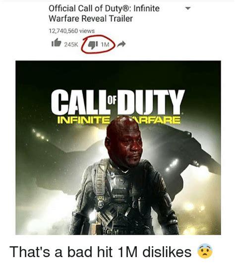 Infinite Warfare Memes - official call of duty 174 infinite warfare reveal trailer 12740560 views 245k 74 1m callduty