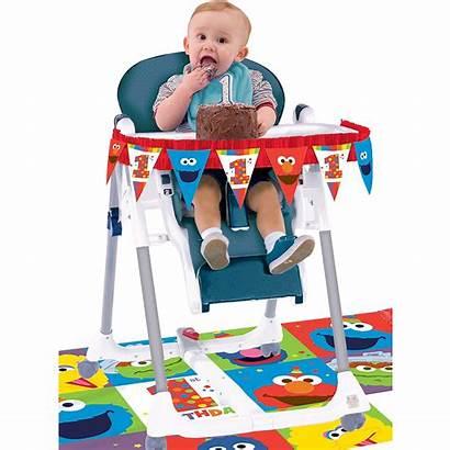 Birthday Chair 1st Elmo Kit Party Decorating