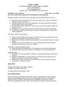 mortgage business analyst resume underwriting credit analyst resume